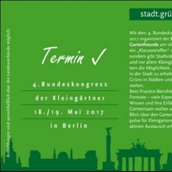 4. Bundeskongress der Kleingärtner 2017 in Berlin